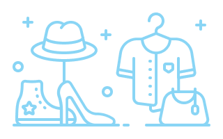 Fashion related icons